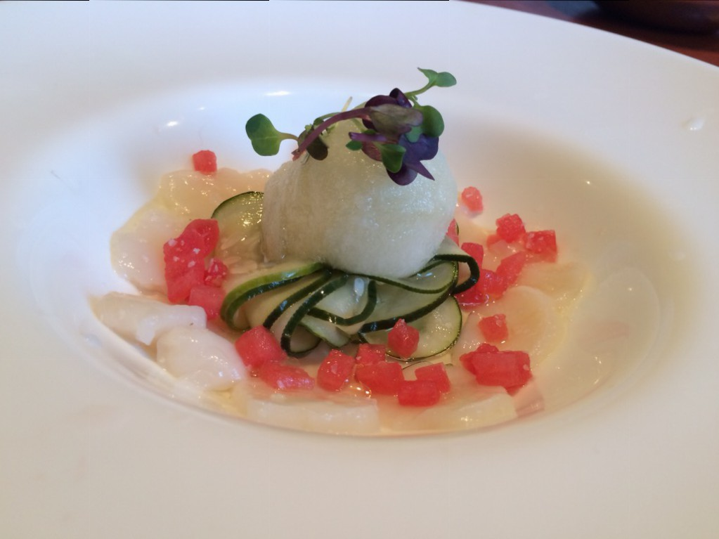 Empire City Gastropub - Scallop Ceviche