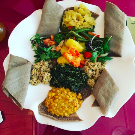 Ethiopian Food Nile - @browneyedvegan