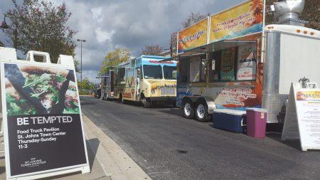 St Johns Town Center - Food Truck Pavillion