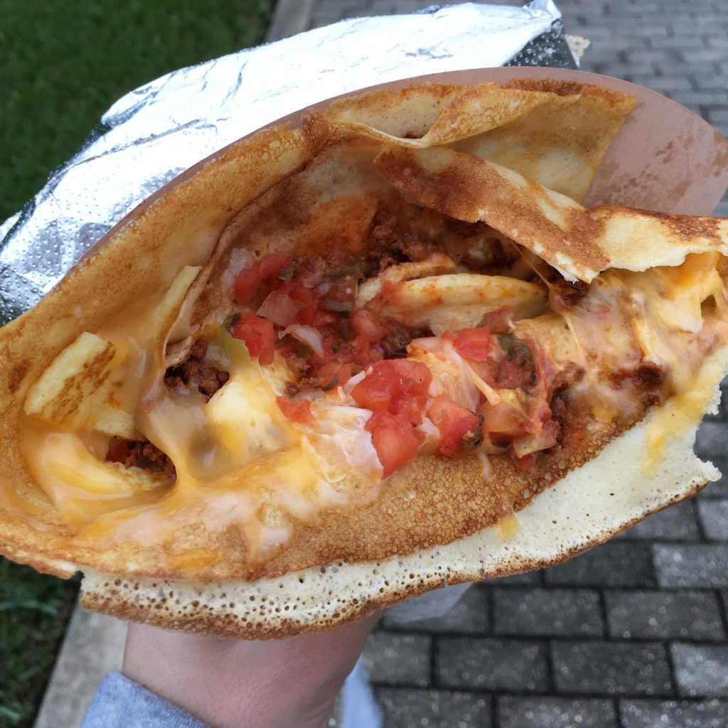 Full of Crepe - South of the Border