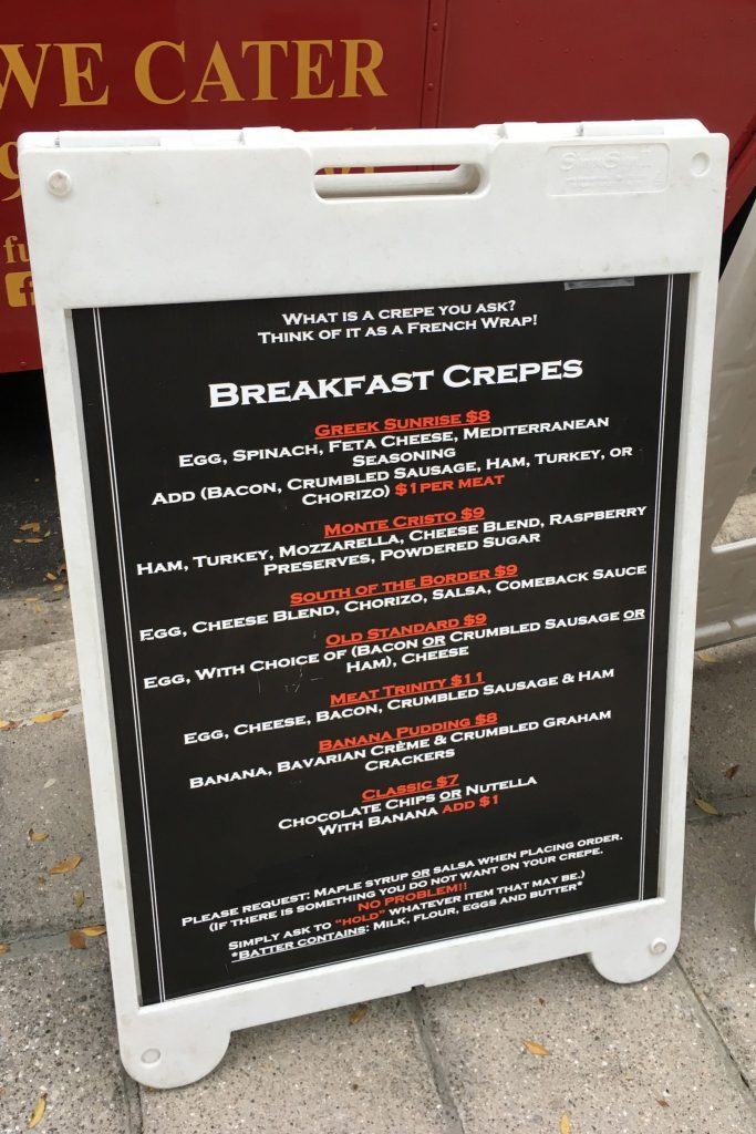 Full of Crepe - Breakfast Crepes