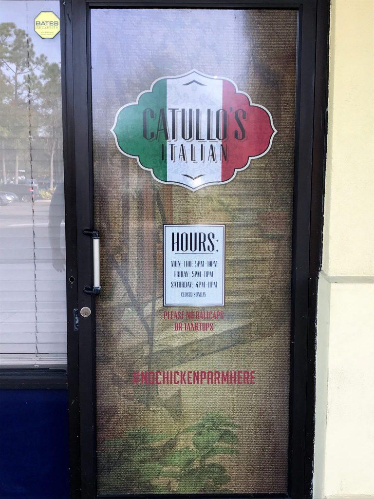 Catullo S New Italian Restaurant Rivals The Best In Jax